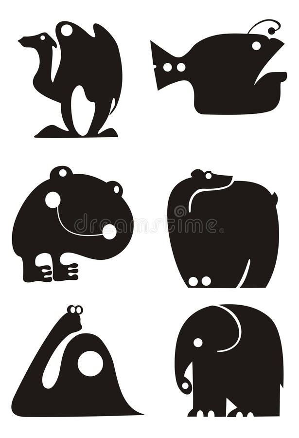 Download Animal stock vector. Image of tusks, isolated, fish, illustration - 26575376