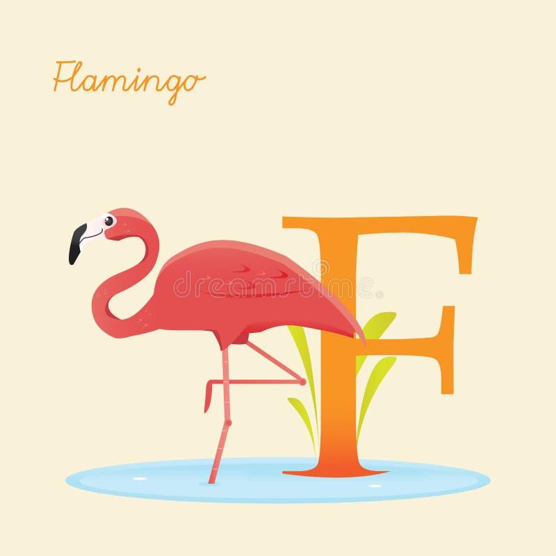 Download Animal Alphabet With Flamingo Royalty Free Stock Photo - Image: 30718205