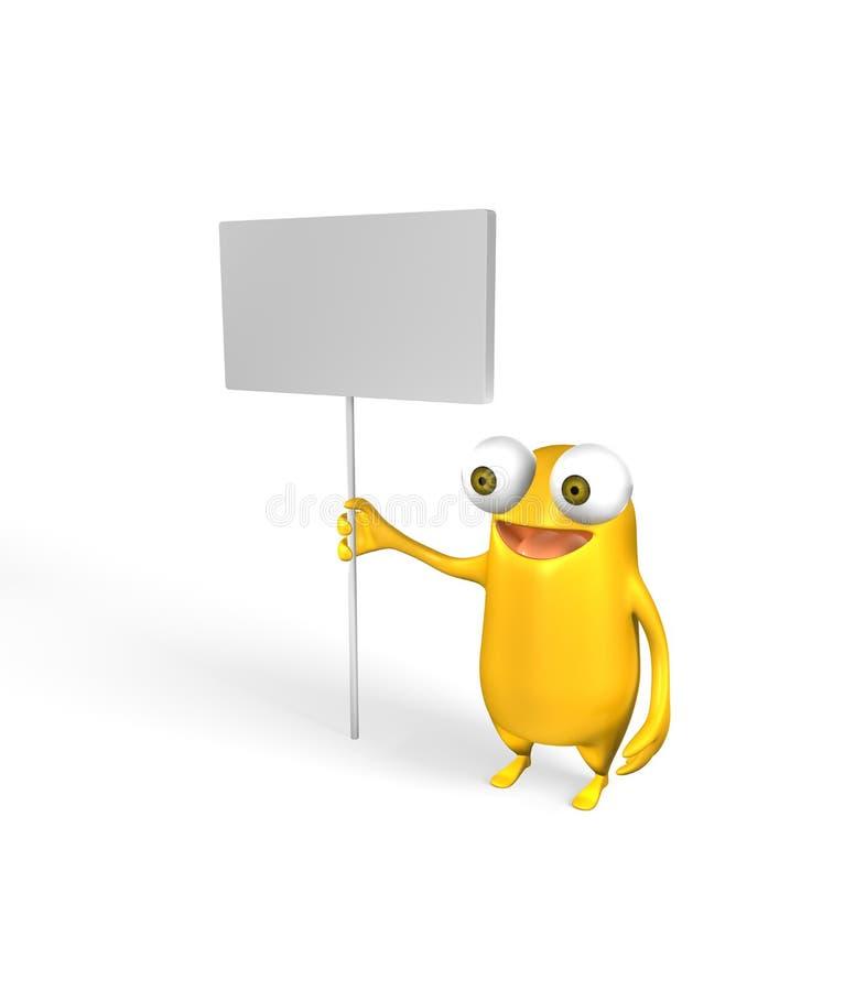 Animal amarillo extraño libre illustration