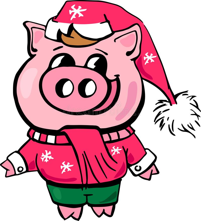 Piggy chinese new year ,cartoon,celebration,design,fun,happiness vector illustration