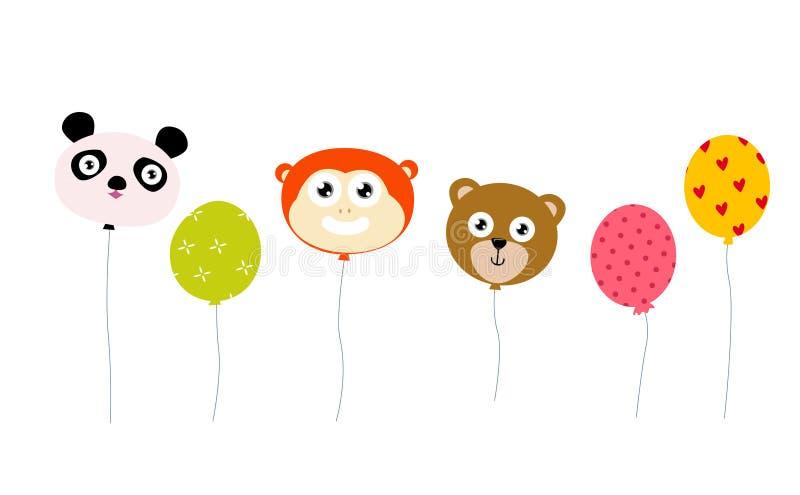 Download Animal balloon stock vector. Image of animal, yellow - 23949244