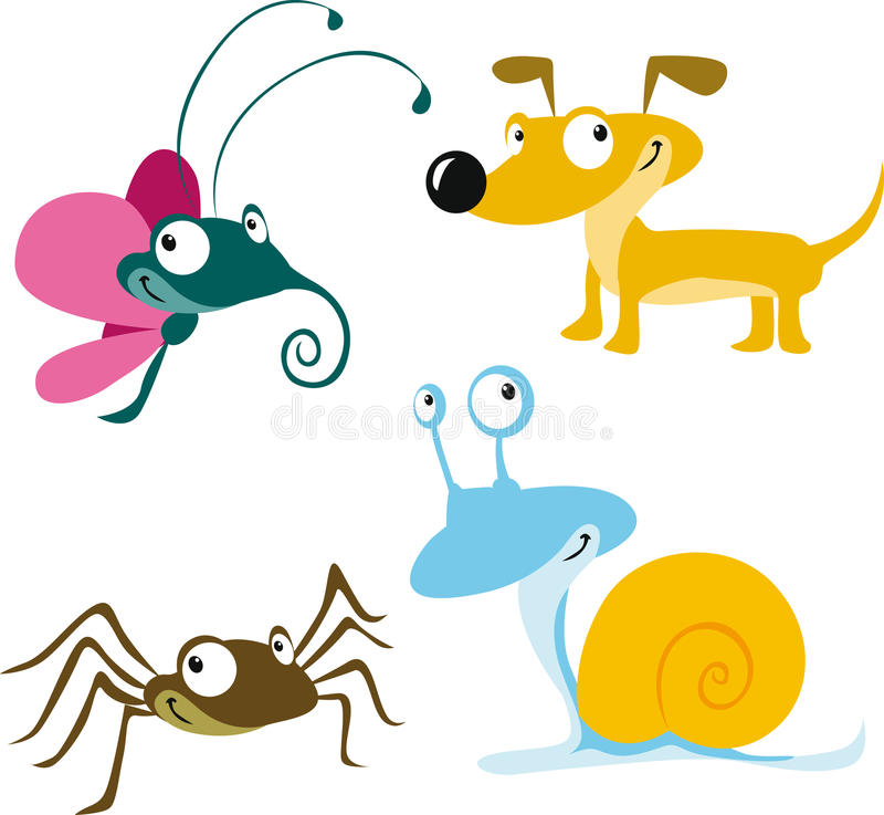 Animal cartoon vector illustration