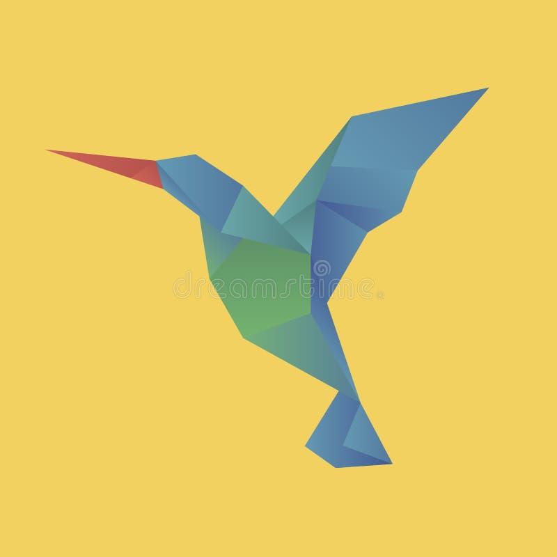 Animal cartoon origami icon vector vector illustration