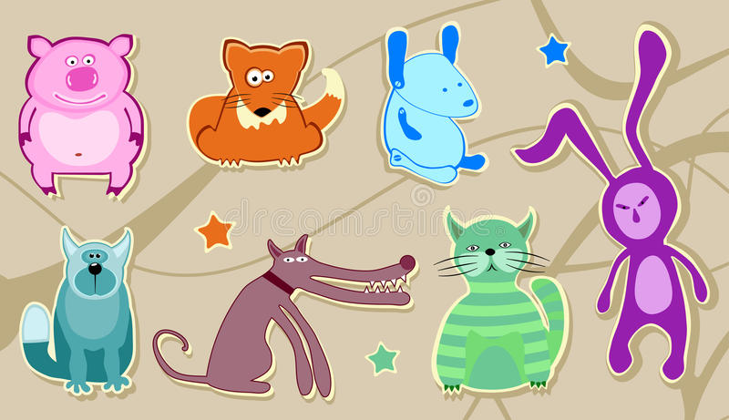 Download Animal Characters Stock Photography - Image: 9506012