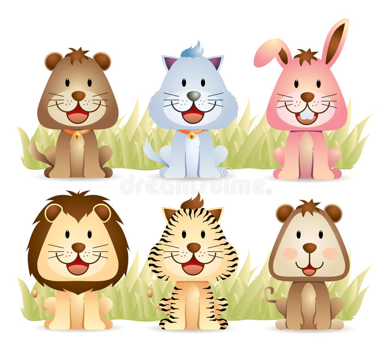 Download Animal Collection Part 1 stock vector. Image of artistic - 19901382