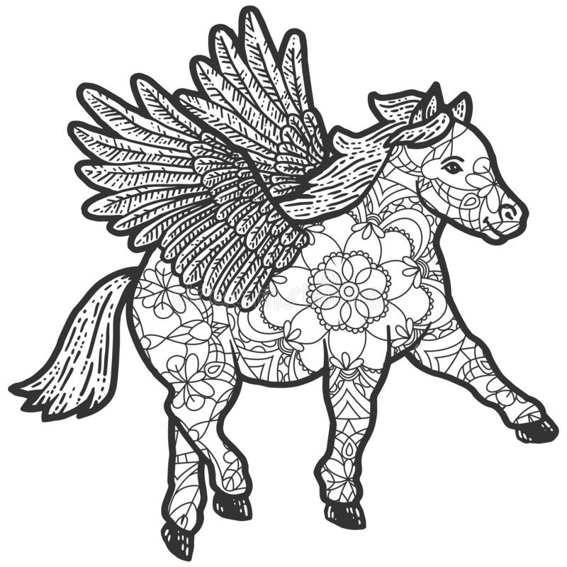 Zentangle Coloring Pages Stock Illustrations – 4,517 Zentangle Coloring  Pages Stock Illustrations, Vectors & Clipart - Dreamstime