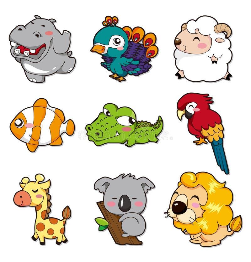 Animal de dessin animé illustration libre de droits