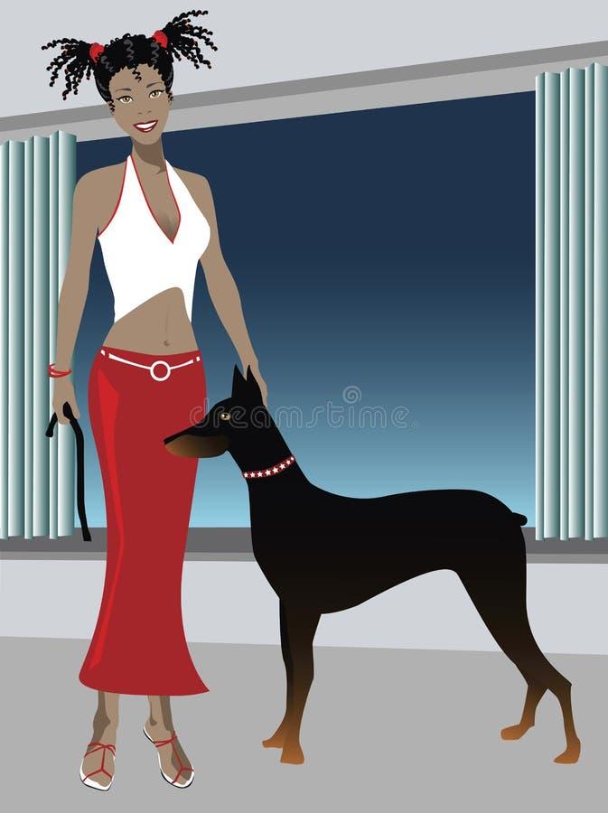 Animal de estimação ilustração stock