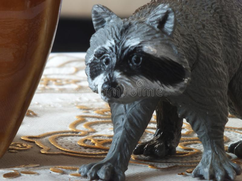 Animal de jouet pour enfants à la maison image stock