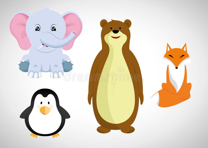 Animal de la historieta libre illustration