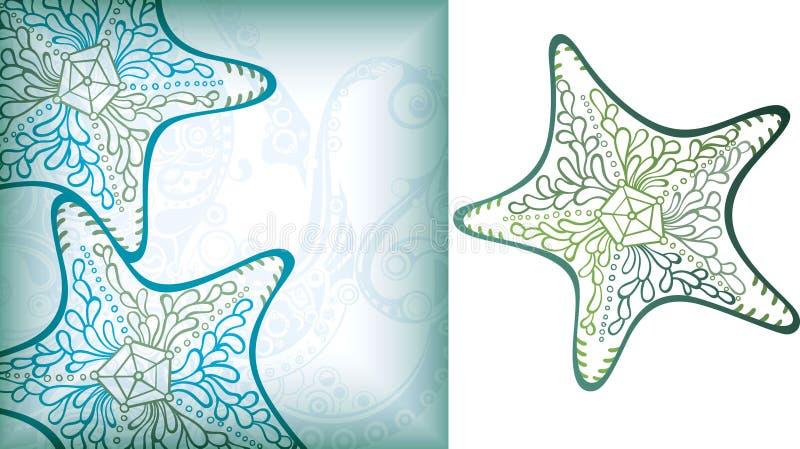 Animal de mar 6 ilustração royalty free
