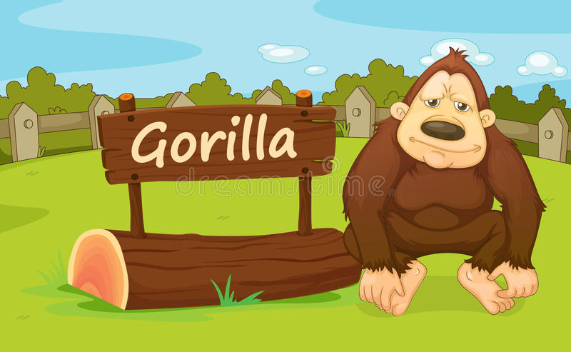 Animal de zoo illustration stock