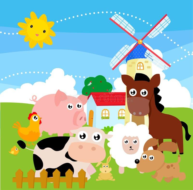 Animal del campo ilustración del vector