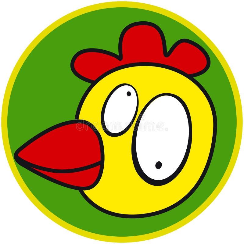 Animal del campo - pollo stock de ilustración