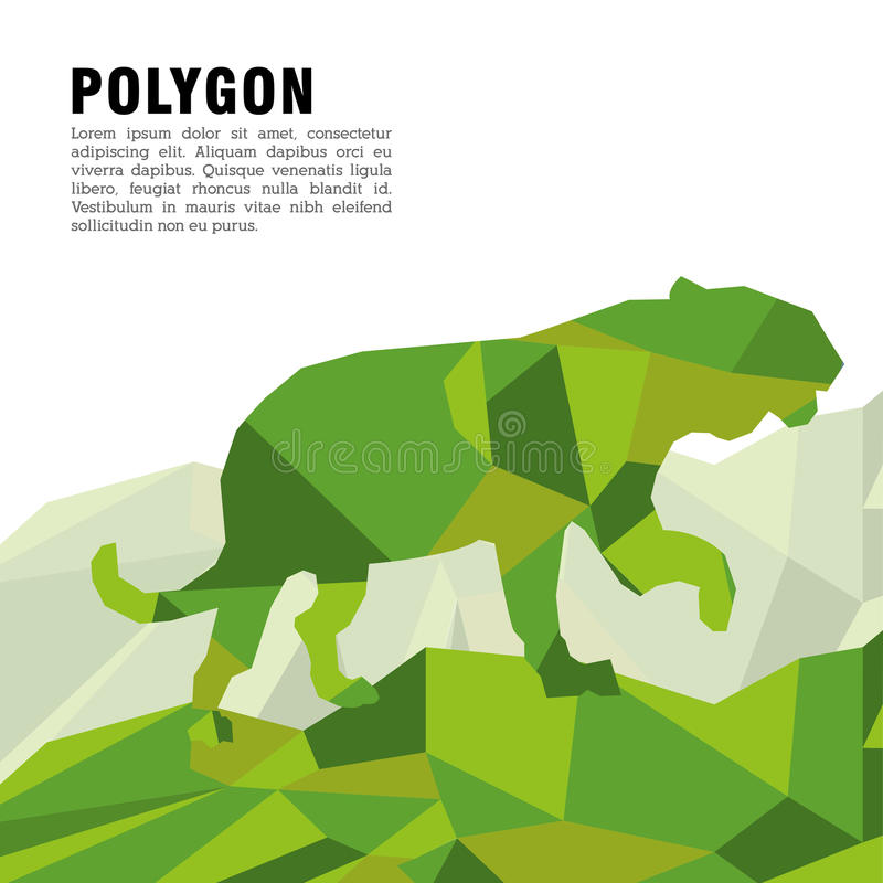 Animal design. Polygon concept. Shape and Origami icon, vector illustration. Animal concept with icon design, vector illustration 10 eps graphic vector illustration