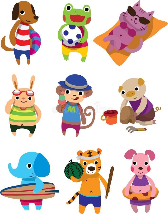 Animal do verão ilustração royalty free