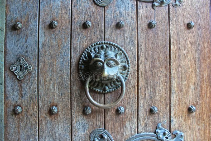 Download Animal Door Knocker Stock Photo. Image Of Look, Europe   105396354