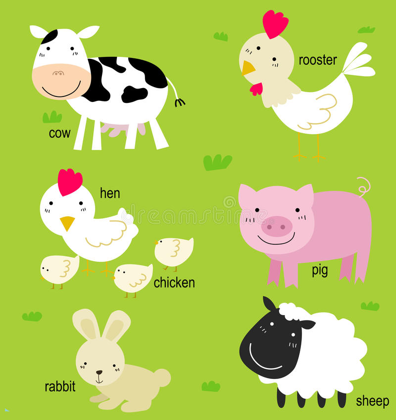 Download Animal and English stock vector. Illustration of friend - 14973211