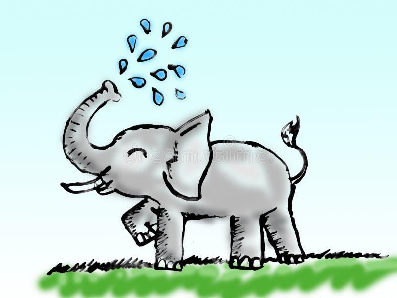 animal eric toon иллюстрация штока