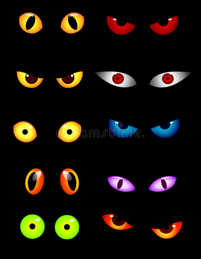 Download Animal eye collection stock vector. Illustration of predator - 20529548