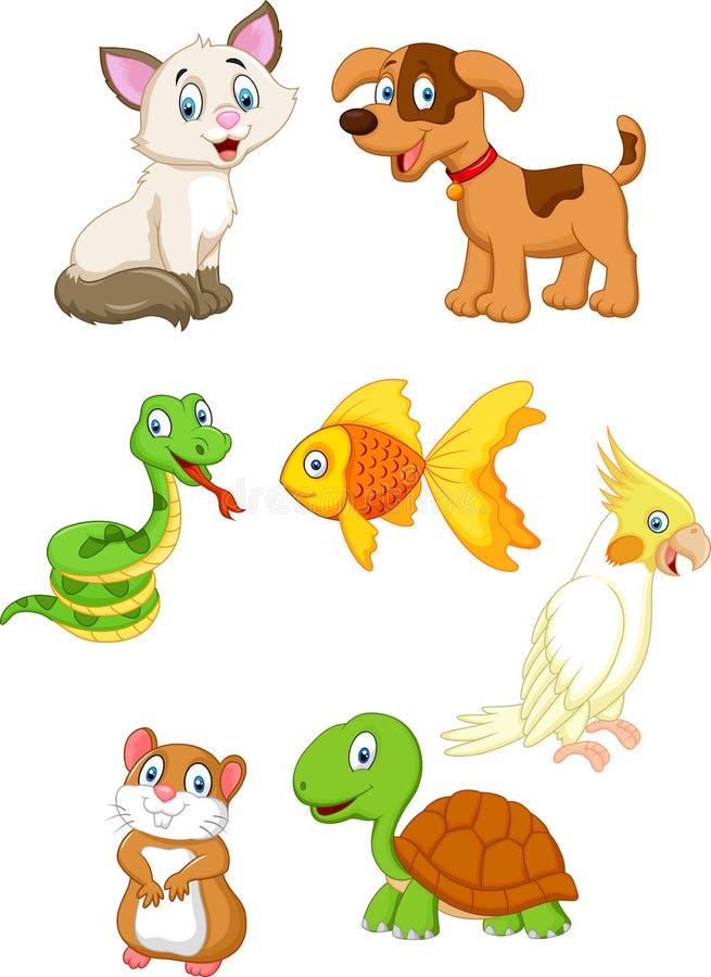 Animal familier de dessin animé illustration stock