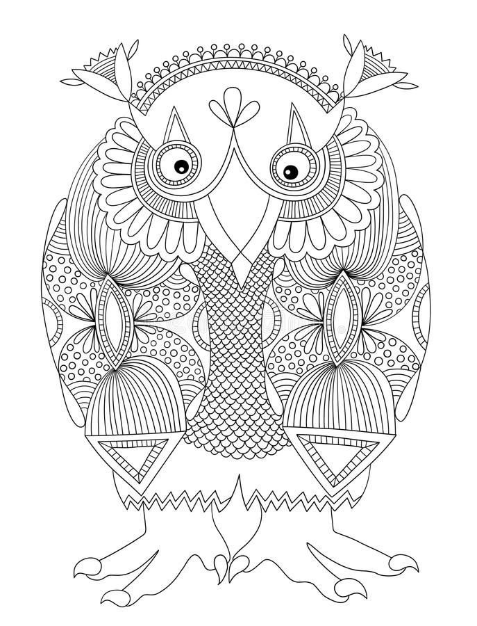 Free Animal Fantasy Personage, Owl Stock Photography - 44945682