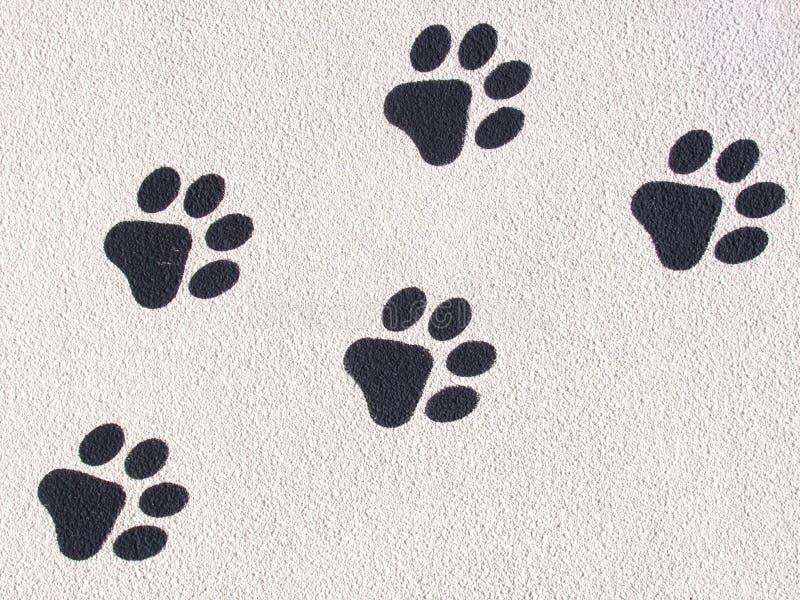 Download Animal Footprints stock illustration. Image of impression - 42146310