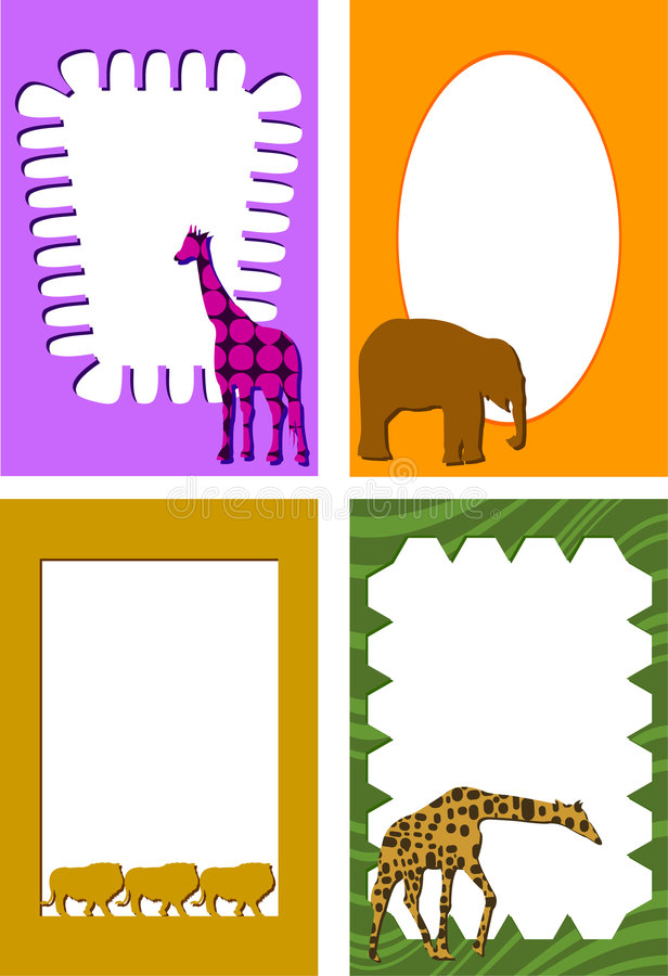 Download Animal Frames Royalty Free Stock Photography - Image: 2447547