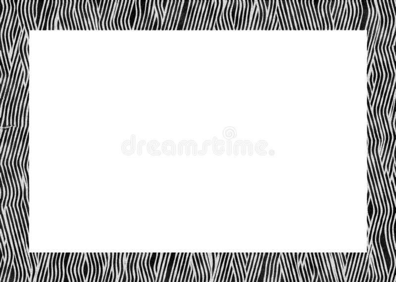 Animal Fur Abstract Photo Frame Royalty Free Stock Image