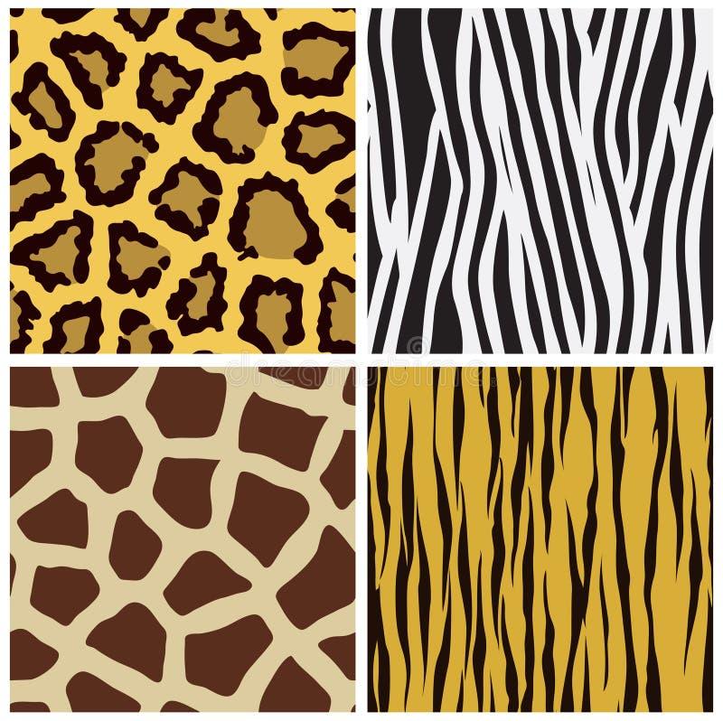 Animal Fur Seamless Pattern Royalty Free Stock Photo