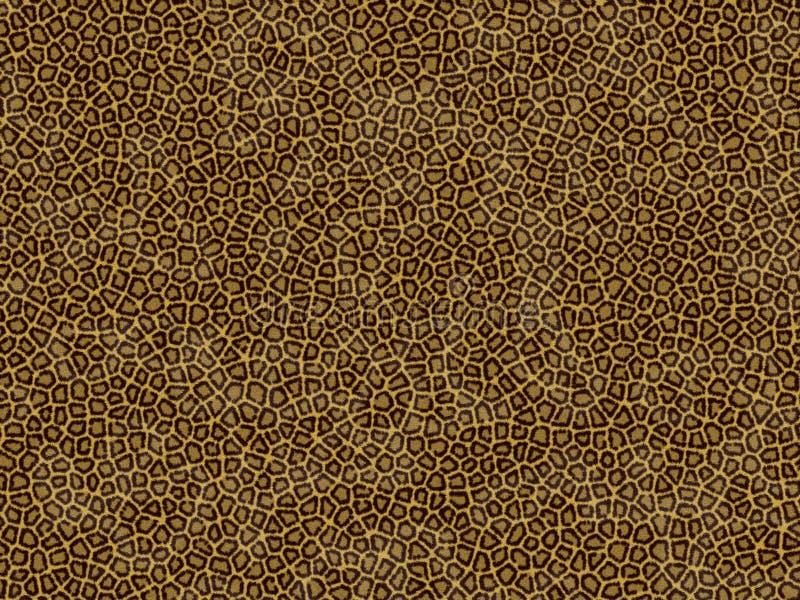 Animal fur texture - leopard vector illustration