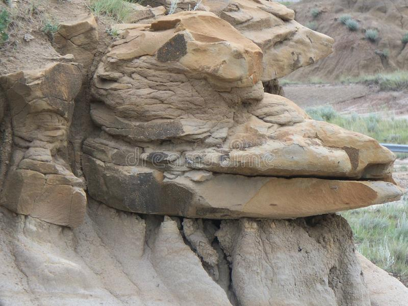 Animal Head Shaped Outcrop royalty free stock photography