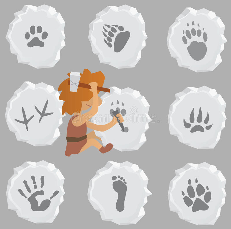 Download Animal and Human Signs stock vector. Image of chisel - 27836156