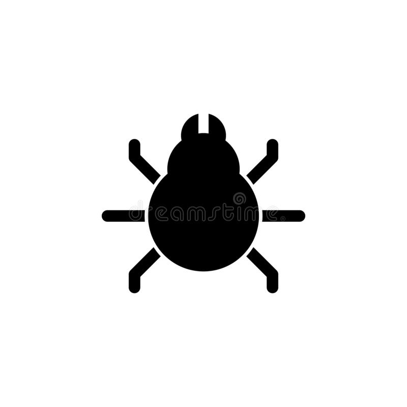 Animal insect bug icon. Signs and symbols can be used for web, logo, mobile app, UI, UX. On white background stock illustration