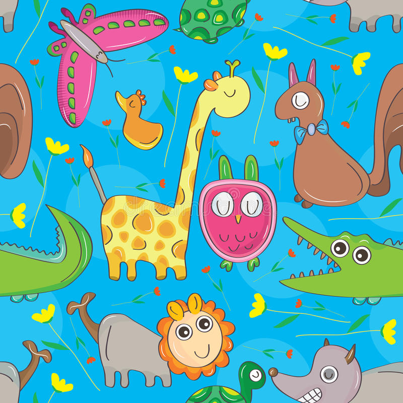 Free Animal Look Seamless Pattern Stock Images - 42914464
