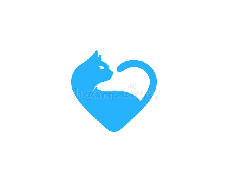 Animal Love Icon Logo Design Element. This design can be used as a logo, icon or as a complement to a design vector illustration