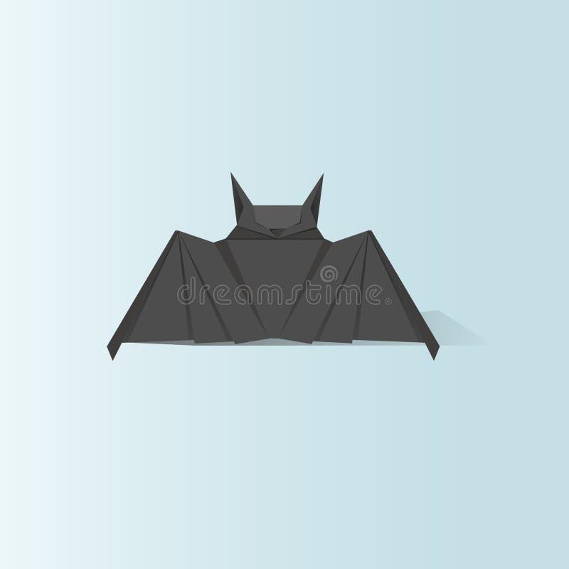 Animal origami vector craft illustration royalty free illustration