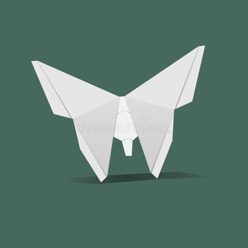 Animal origami vector craft vector royalty free illustration