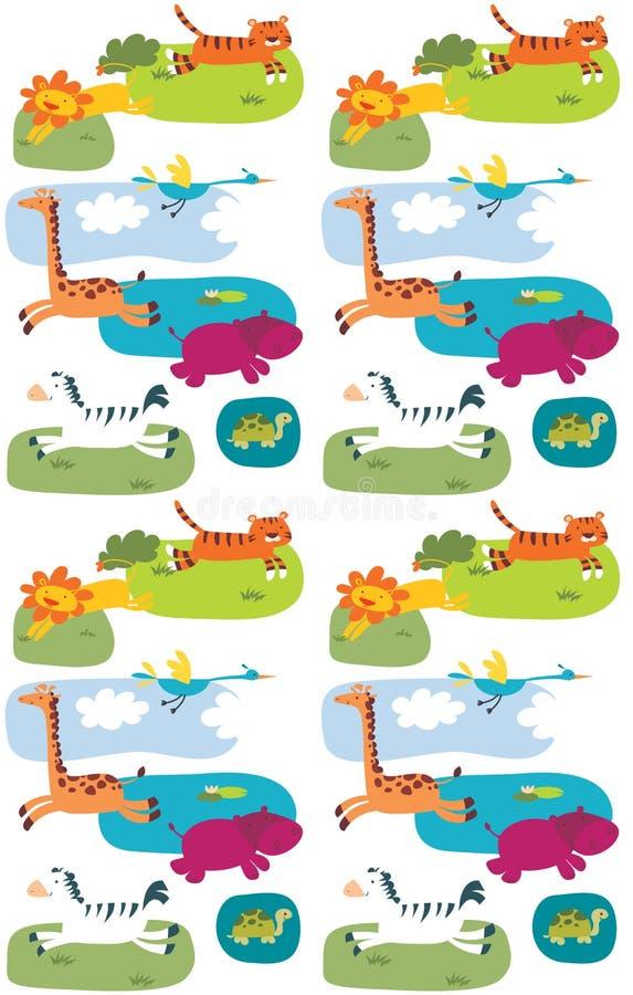 Animal pattern stock photography