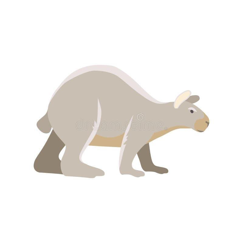 Animal prehistórico de la historieta del vector stock de ilustración