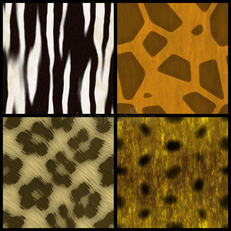 Download Animal Print Collection stock illustration. Image of abstract - 11081803