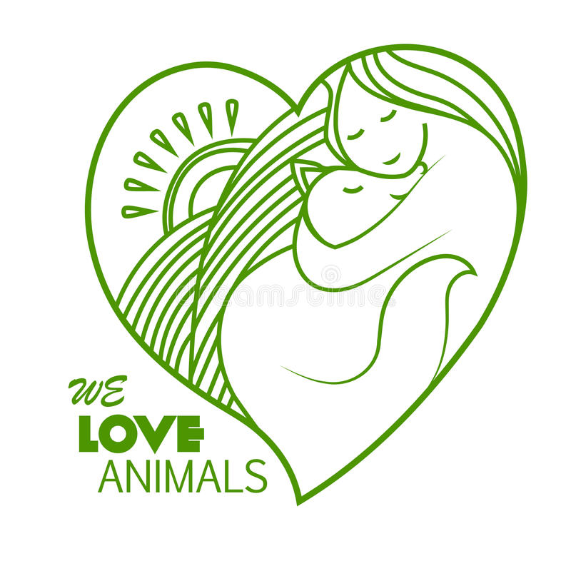 Animal symbol for love