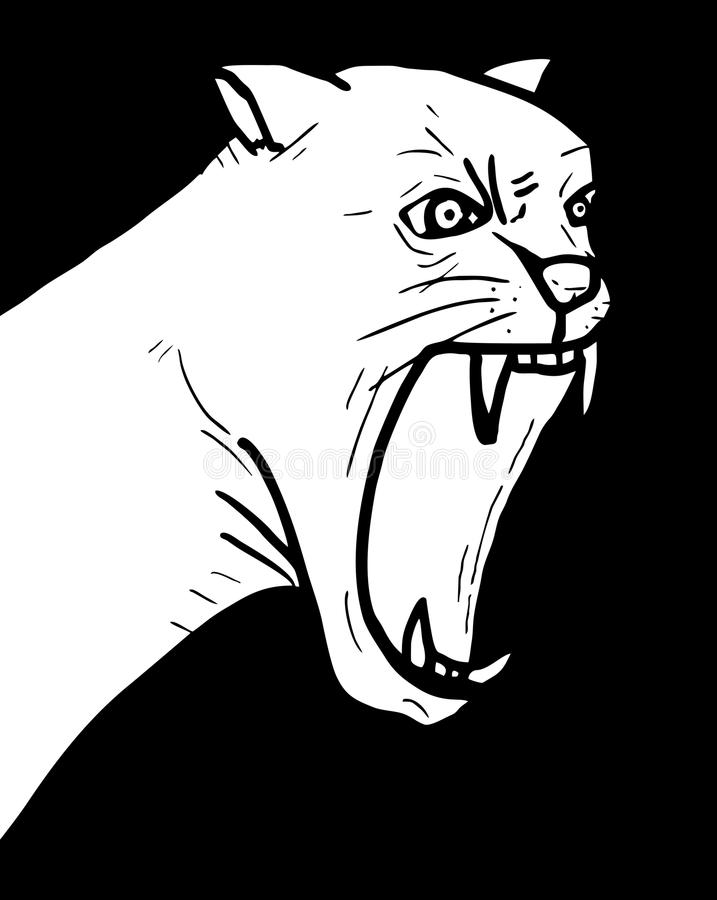 Animal sauvage illustration stock