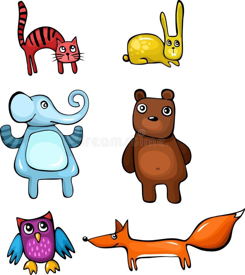 Download Animal set stock image. Image of animal, hare, rabbit - 25101213