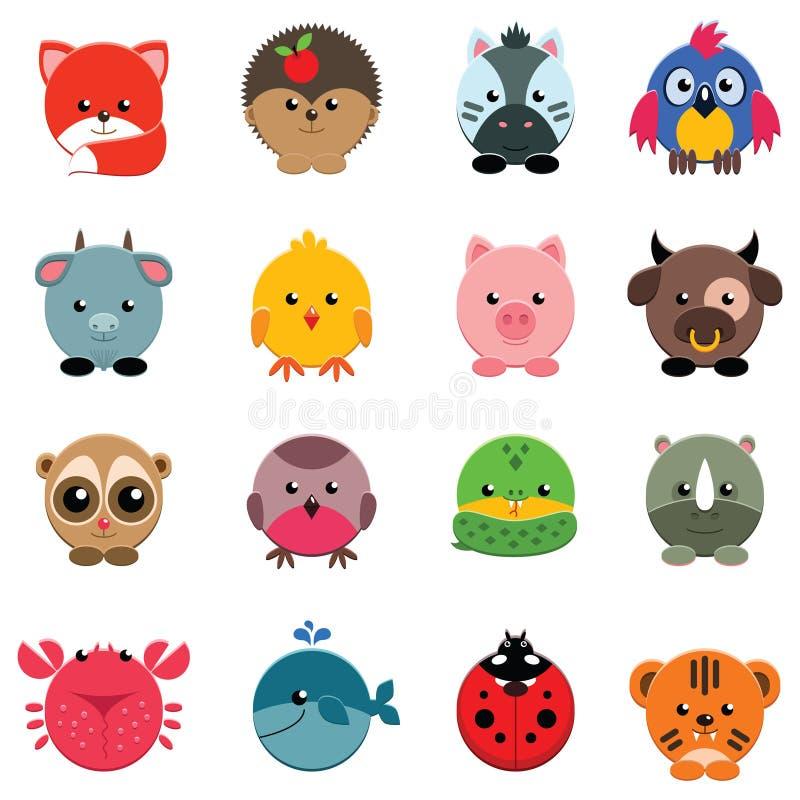 Download Animal set stock vector. Illustration of hedgehog, baby - 41531018