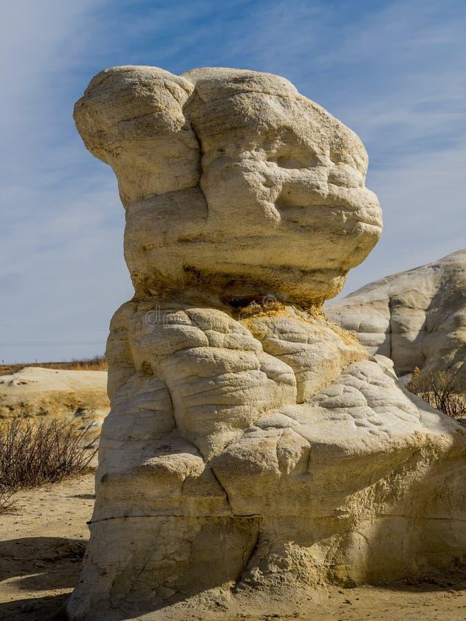 Animal-Shaped Rock Hoodoo stock photo