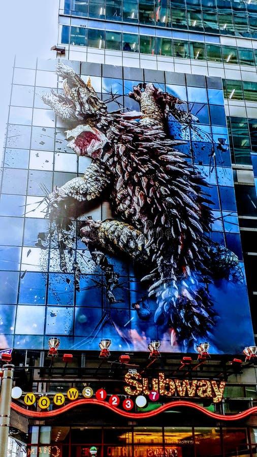 Animal sur le bâtiment photographie stock libre de droits
