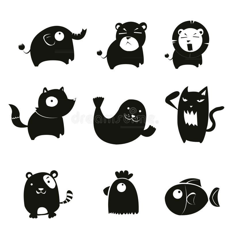 Animal symbol royalty free stock photography