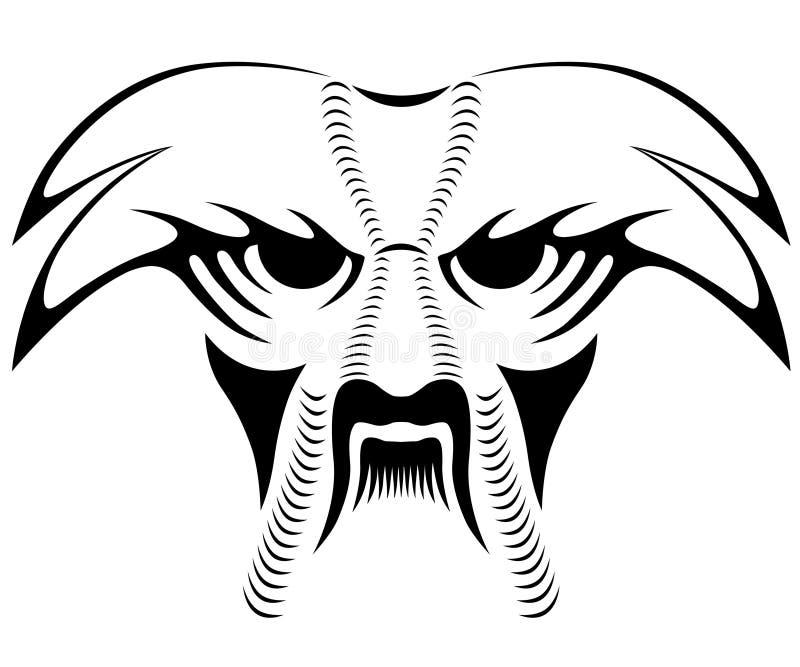 Animal, tatuagem ilustração do vetor