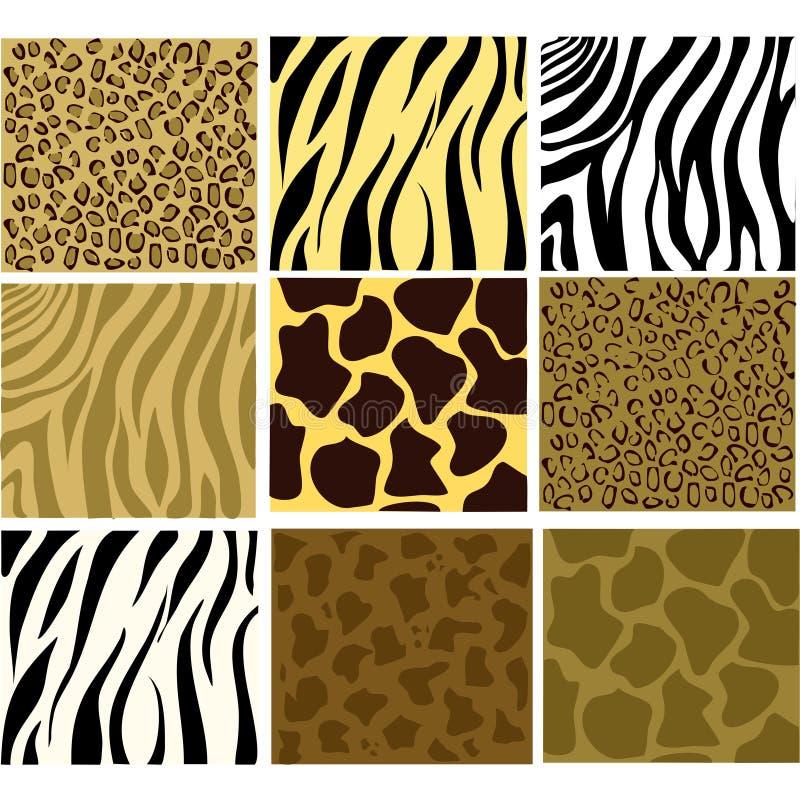 Animal texturisé illustration stock